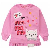 20-13853 Джемпер для девочки, 3-7 лет, розовый