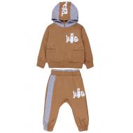 20-138613 Костюм для мальчика, 1-4 года, коричневый