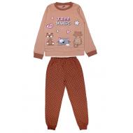 20-1395202 Пижама для девочки, 9-12 лет, бежевый