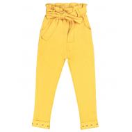 20-14054 Брюки для девочки, желтый