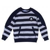20-14061 Джемпер для мальчика, 5-8 лет, т-синий