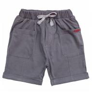 20-14091 Шорты для мальчика, 3-7 лет, серый