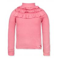 20-14181 Водолазка для девочки, кашкорсе, 3-7 лет, розовый