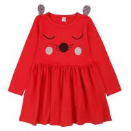 20-3683 Платье для девочки, 2-5 лет, красный