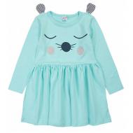 20-3684 Платье для девочки, 2-5 лет, ментоловый