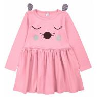 20-3686 Платье для девочки, 2-5 лет, розовый