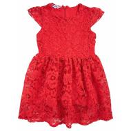 20-3762 Нарядное платье для девочек, 2-5 лет, красный
