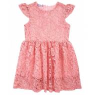 20-3763 Нарядное платье для девочек, 2-5 лет, розовый