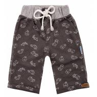 20-4762 Удлиненные шорты для мальчика, 2-5 лет, графит
