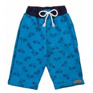 20-4761 Удлиненные шорты для мальчика, 2-5 лет, бирюза