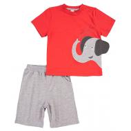 20-4983 Костюм для мальчика, 1-4 года, красный
