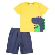 20-4984 Костюм для мальчика, 1-4 года, желтый