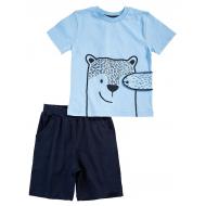 20-4985 Костюм для мальчика, 1-4 года, голубой