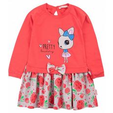 20-8353 Платье для девочки, 2-6 лет, красный