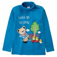 20-007105-1  Водолазка для мальчика, 1-4 года, т-голубой