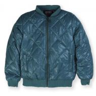 20-0621 Куртка стеганная для девочки, 3-7 лет, изумрудный