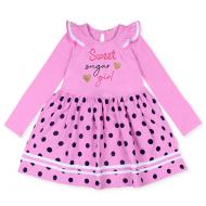20-13903 Платье для девочки, 5-8 лет, розовый