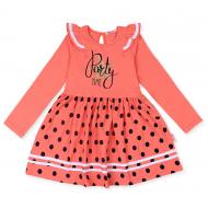 20-13904 Платье для девочки, 5-8 лет, персик