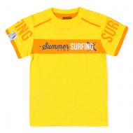 20-14503 Футболка для мальчика, 3-7 лет, желтый