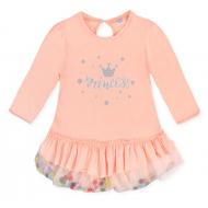 20-3733 Платье для девочки, 2-5 лет, персик