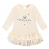 20-3735 Платье для девочки, 2-5 лет, молочный