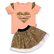 020-13251 Комплект для девочки, 3-7 лет, персиковый