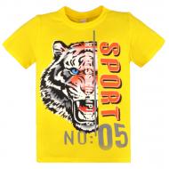 20-0031101 Футболка для мальчика, 8-12 лет, желтый