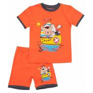 20-00403 Костюм для мальчика, 1-4 года, оранжевый