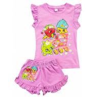 20-004210 Костюм для девочки, 1-4 года, лиловый