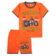 20-005105 Костюм для мальчика, 4-8 лет, оранжевый