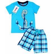 020-12084 Костюм для мальчика, 3-7 лет, голубой