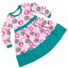 20-12771 Платье для девочки, 2-6 лет