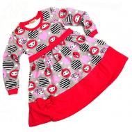 20-12772 Платье для девочки, 2-6 лет