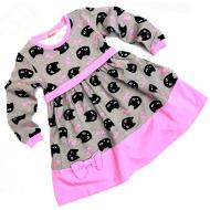 20-12774 Платье для девочки, 2-6 лет