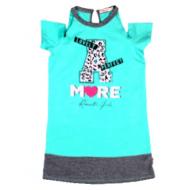 020-13265 Платье для девочки, 8-12 лет, ментоловый