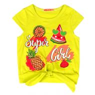 20-13565 Блузка для девочки, 2-6 лет, желтый