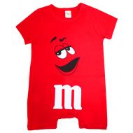 """20-4587 """"M&M's"""" Полукомбинезон для малышей, 62-86, красный"""