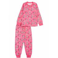 20-3000-1 Пижама для девочки, 2-6 лет, коралловый