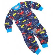 20-30003 Пижама для мальчика, 2-6 лет, синий