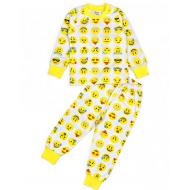 20-30004 Пижама для мальчика, 2-6 лет, желтый