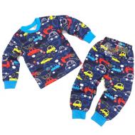 20-30013 Пижама для мальчика, 2-6 лет, синий