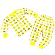 20-30014 Пижама для мальчика, 2-6 лет, желтый