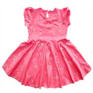 20-3722 Платье для девочки, 3-7 лет, розовый