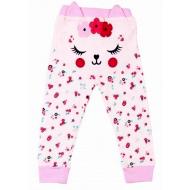 020-4146 Штаны для новорожденных, 62-80, розовый