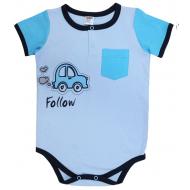 20-4662 Боди для малыша, интерлок, 62-80