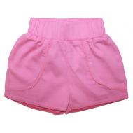 20-8641 Шорты для девочки из поплина, 3-7 лет, розовый