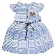 20-9431 Платье льняное для девочки, 3-7 лет