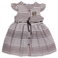20-9432 Платье льняное для девочки, 3-7 лет