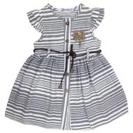 20-9433 Платье льняное для девочки, 3-7 лет