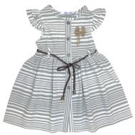 20-9434 Платье льняное для девочки, 3-7 лет